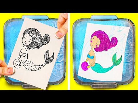 Интересни трикови и техники за цртање што ќе ви го исполнат слободното време