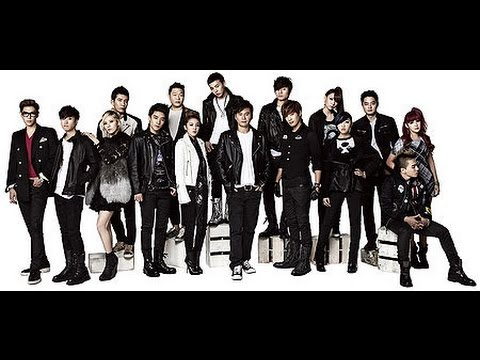 KPOP Evolution (YG Entertainment Artists Evolution) - Until 2016