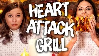 6 INSANE Heart Attack Grill Menu Items (Cheat Day)