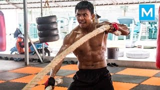 Muay Thai Monster - Buakaw Banchamek | Muscle Madness