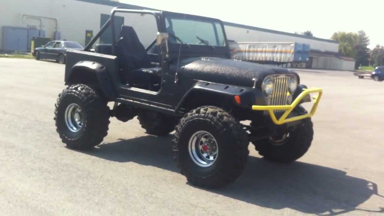 1983 Jeep Cj7 4x4 Lifted 38 5s 350 V8 Must See