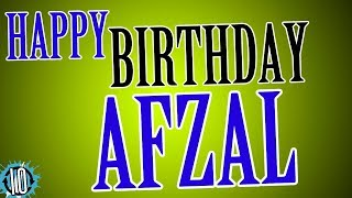 HAPPY BIRTHDAY AFZAL! 10 Hours Non Stop Music & Animation For Party Time #Birthday #Afzal
