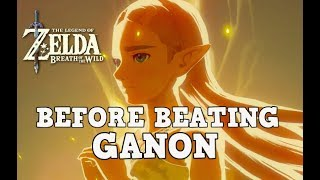 Breath of the Wild: Things to do Before Ganon