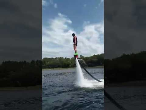 Paige Muschott you did great flyboarding for your first time