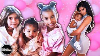 Lujos innecesarios con los que los niños Kardashian se están criando 👶👶🏿🤑