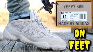 ADIDAS YEEZY 500 BLUSH REVIEW & ON FEET! Watch BEFORE You Buy!