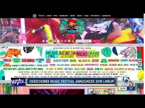 Okeechobee Music Festival announces 2018 lineup