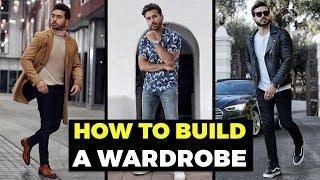 BUILDING A MEN'S WARDROBE For Beginners | The BASICS | Men's Fashion