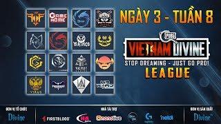 🔴[LIVE] PUBG Divine League: Refund , FFQ, Divine, Vikings White, GameHome, GAM, SGD...