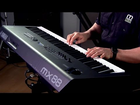 Yamaha MX88 Music Synthesizer Performance with Blake Angelos