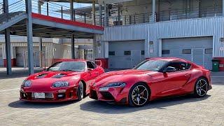 Toyota Supra - Old vs. New