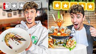 Worst Reviewed Seafood VS Best Reviewed Seafood! ($10,000)