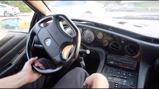 Riding in a 650bhp Twin Supercharged Lamborghini Diablo VT Roadster