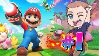 Dansk Mario + Rabbids Kingdom Battle BEGYNDELSEN #1