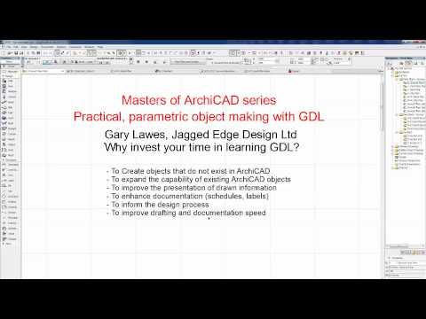 Masters of ArchiCAD Training - GDL Online Course Intro