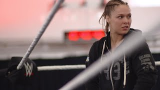 Ronda Rousey trains for four hours straight at WWE's Performance Center
