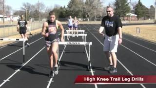 Hurdle Drills - O'Neill High School, Nebraska