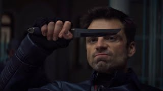 The Winter Soldier/Bucky Fight Scenes - The Falcon and The Winter Soldier