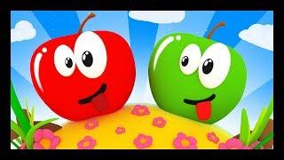 Pomme de reinette et pomme d'api - Comptines et chansons pour bébés - Titounis