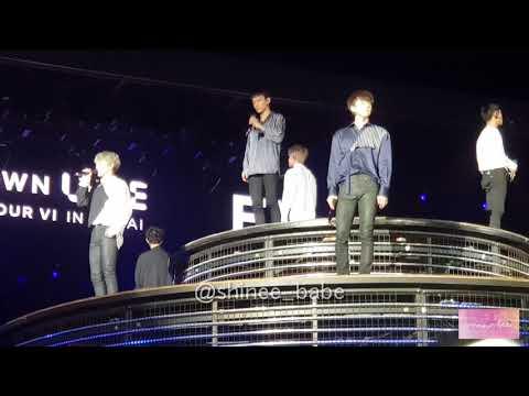 180406 EXO Universe + Self Intro @ SMTown Live in Dubai