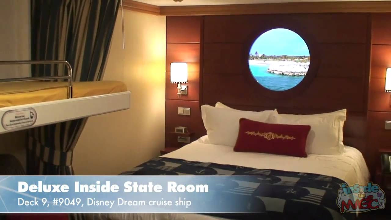 Tour A Deluxe Inside State Room With Magical Porthole On