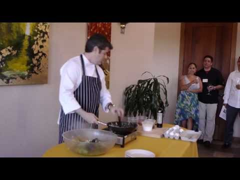 (HD) Bouchaine Chef Series 2013 with Chef Kevin Garcia - Demo