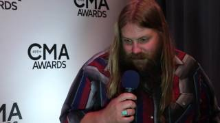 Chris Stapleton on performing with Justin Timberlake, his wife | CMA Awards 2015