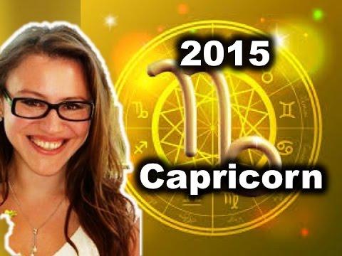 CAPRICORN 2015 Horoscope with Astrolada
