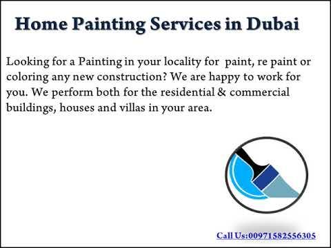 Wall Painting Service in Dubai - Handyman Service UAE