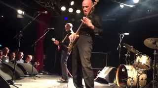 Wilko Johnson and his band live at Klubi Tampere 23.9.2015