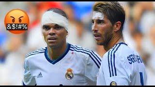 Sergio Ramos & Pepe The Most Dangerous Duo 🔥