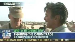 Marines grow opium for their masters.
