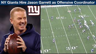 NY Giants Hire Jason Garrett as OC! (Film Review)