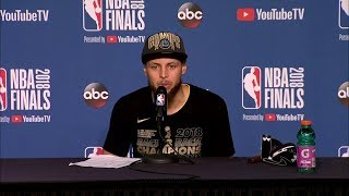 Stephen Curry Postgame Interview - Game 4 | Warriors vs Cavaliers | June 8, 2018 | 2018 NBA Finals