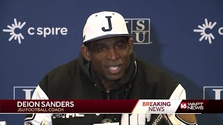 Deion Sanders says personal items were stolen during coaching debut