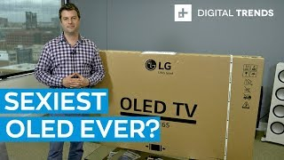 2019 LG C9 OLED 4K TV Hands on: Unboxing and Setup