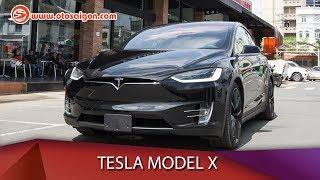 Otosaigon - Đánh giá nhanh Tesla Model X P100D giá 9 tỉ đồng tại Việt Nam