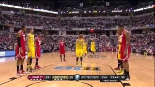 2014 Big Ten Tournament Semifinals Michigan vs. Ohio St.