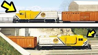 WHERE DOES THE TRAIN IN NORTH YANKTON GO? (GTA 5)