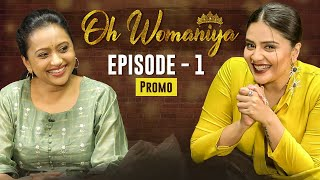 Anchor Sreemukhi shares promo of 'Oh Womaniya' ft Suma Kan..