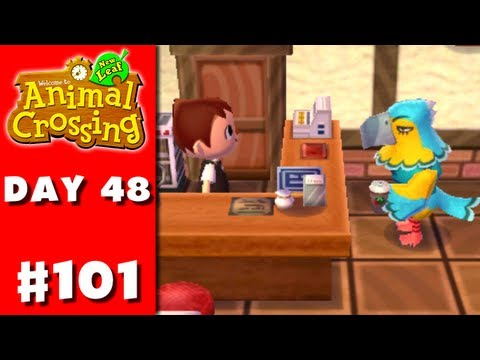 Animal Crossing: New Leaf - Part 101 - Coffee For Keaton (Nintendo 3DS Gameplay Walkthrough Day 48) - Smashpipe Games