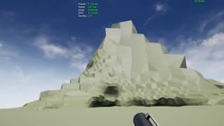 VR Destructible World Game Prototype