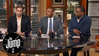 Tracy McGrady, Paul Pierce and Zach Lowe make early NBA MVP predictions | The Jump | ESPN