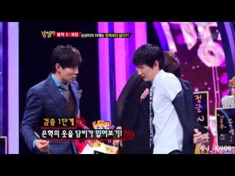 Son Dambi with Super Junior Eunhyuk's coat@121120 Strong Heart