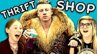 TEENS REACT TO THRIFT SHOP (Macklemore & Ryan Lewis)