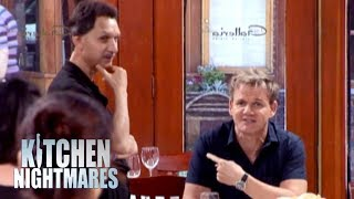 Gordon Ramsay Meets Legendary Busboy, Pat | Kitchen Nightmares