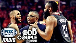 Reports Say There's Tension Between James Harden and Chris Paul