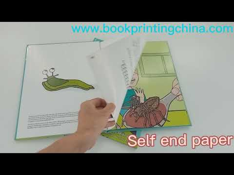 Gloss Lamination Hardcover Children Book Printing Factory