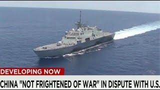 BREAKING 2018 Mattis warns China Militarization South China Sea China vs USA doorstep War July 2018