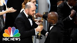 'La La Land Over 'Moonlight': Memes, Reactions To Hollywood's Oscar Mix-Up | NBC News